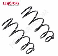 Smart Fortwo 2008-2015 w/ Brabus Package Rear Coil Springs Set x 2 Lesjofors New (Fits: Smart Fortwo)