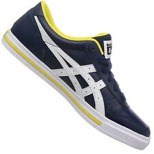Asics Onitsuka Tiger Aaron d4t1y-5003 CASUAL SHOES TRAINERS Navy White Yellow 42
