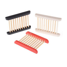 Trendy Trapezoid Wooden Soap Dishes Natural Wood Soap Box Bath Holder