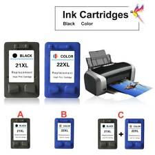 NEW Compatible Ink Cartridges for HP21 HP22 Ink Cartridges C9351AA F2100 2180 PS
