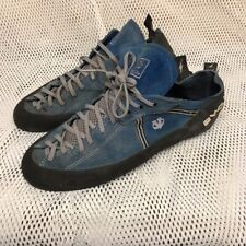 BRITISH ARMY SURPLUS EVOLV VTR3D BLUE & BLACK SUEDE LEATHER CLIMBING SHOE UK 12