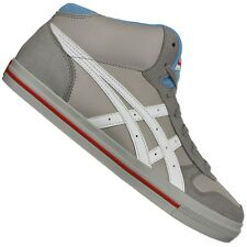Asics Onitsuka Tiger Aaron MT MID TOP CASUAL SHOES TRAINERS GREY WHITE