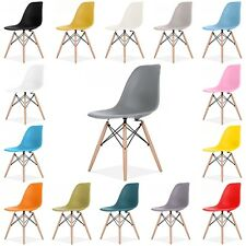 Eames Eiffel DSW Retro Vintage Plastic Dining Office Lounge Chair set of two