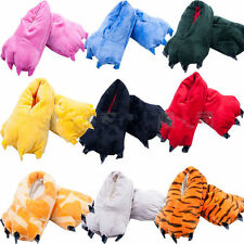 Fashion Adult Kids Cartoon Animal Slippers Cosplay Claw Paw Shoes Indoor Home AU