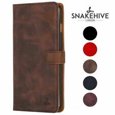 Snakehive® Samsung Galaxy S6 Vintage Leather Folio Wallet Phone Case Card Slots