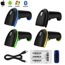 Bluetooth Handheld Barcode Bar Code Scanner Reader for iOS Android Windows