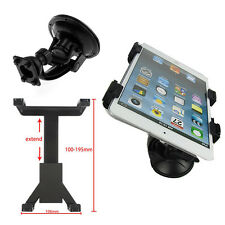 """Vehicle Car Windshield Suction Cup Mounts Holder Adjustable For 7-11"""" Tablet PC"""