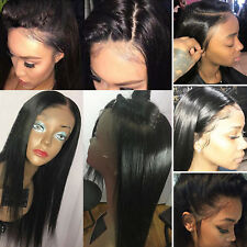 Glueless Full Lace Front Human Hair Wig For Black Women With Baby Hair Around Hh
