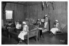 WWI Army Nurses At Leisure At An American Hospital In France Silver Halide Photo