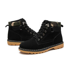 Men's Lace Up New Leather Winter Outdoor Ankle Boots Non-slip Martin Boots a182