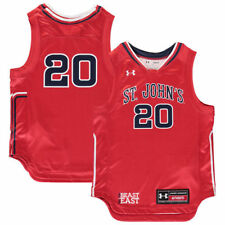 Under Armour #20 St. Johns Red Storm Youth Red Replica Basketball Jersey
