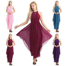 Women Formal Wedding Bridesmaid Long Evening Party Ball Prom Cocktail Dress Hot