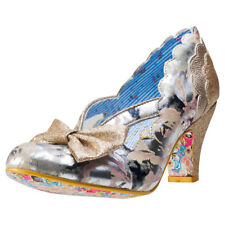 Irregular Choice Stage Left Womens Shoes Cream New Shoes