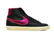 Womens Nike Blazer High - 512709 060 - Black Purple Trainers