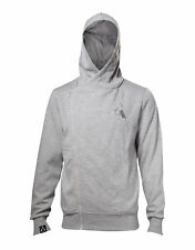 Assassins Creed Hoodie Movie Callum Lynch Inspired Official Mens New Grey Zipped
