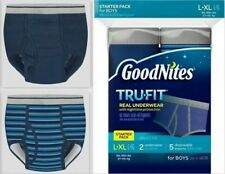 GoodNites Tru-Fit Real Underwear with Nighttime Protection Boy's Starter Pack