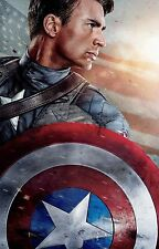 Captain America: The First Avenger Movie Silk Fabric Poster