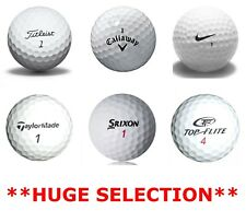 Golf Balls - Titleist, Callaway, Nike, TaylorMade, Srixon  ** HUGE SELECTION **
