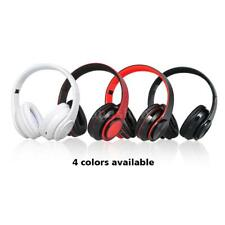 3.5mm Wired Earphone Headset LED Wireless Bluetooth Headphone Hands-free B9Q7