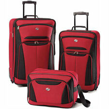 American Tourister Fieldbrook II; 3 - Piece Rolling Luggage Set- 3 color choices