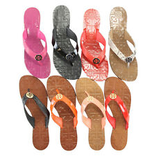Tory Burch THORA Leather Thong Sandals Flip Flops Size 6-10