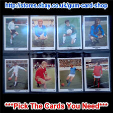 The Sun - Football Swap Cards 1970 (97 to 134) (G) Please Select Card