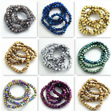 Wholesale Color Glass Crystal Charms Cube Square Loose Spacer Beads 2mm4mm6mm