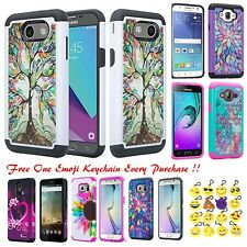 For Samsung Galaxy S8 Plus Hybrid Hard Diamond Bling Cell Phone Case Skin Cover