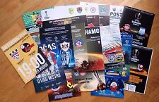2017 - 2018 EUROCUPS PROGRAMMES CHL EL updated MARCH 2018 OFFICIAL & FAN edition