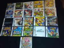 Nintendo DS/3DS Empty Replacement Video Game Cases Kirby Mario Sonic Pokemon ++
