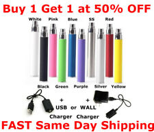 1eGo-T 1100mAh Vaporizer-Pen Battery Replacement 510 Thread + Charger Option