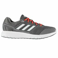 adidas Duramo Lite 2 Fitness Training Shoes Mens Grey/Wht/Red Trainers Sneakers