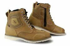 Motorcycle Motorbike Waterproof Mens Leather Falco Ranger Camel Brown Boots