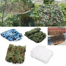 3x3M Woodland Camouflage Netting Military Camo Hunting Shooting Hide Cover Net