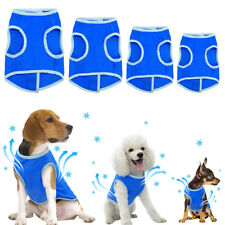 Blue Dog Cooling Harness Pet Cool Summer Coat Vest Small Medium Free Shipping