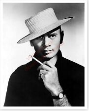 Stage And Movie Actor Yul Brynner 8 x 10 Silver Halide Publicity Photo