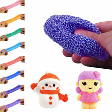 New 3D Snow Mud Fluffy Floam Slime DIY Stress Relief Children Kid Funny Toy Gift