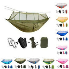 Camping Hammock Bed With Mosquito Net Ultralight Nylon Outdoor Hanging Sky Tent