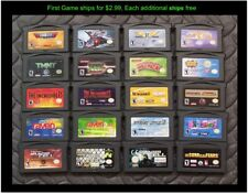Nintendo GameBoy Advance GBA Game (Select Your Game-Price Varies) Lot #36