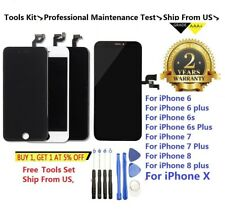 LCD Display+Touch Screen Digitizer Replacement For iPhone X 6 6S 7 8 Plus