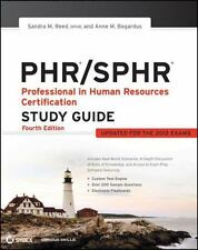 PHR/SPHR : Professional in Human Resources Certification by Sandra M. Reed...