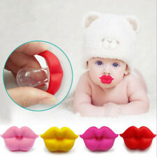 Baby Infant Silicone Pacifier Kiss Lips Dummy Pacifiers Nipples Teether Soother