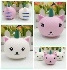 Mini Cat Unicorn Squishy Slow Rising Soft Squeeze Relax Cake Bread Kid Toy Gift