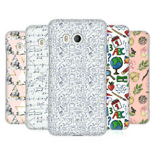 OFFICIAL JULIA BADEEVA ASSORTED PATTERNS 3 HARD BACK CASE FOR HTC PHONES 1