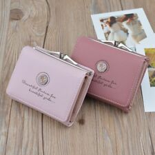 Small Cute Women Wallet With Zipper Female Credit Card ID Holder Coin Purse