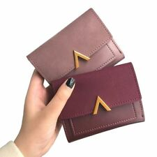 Fashion Small Luxury Women Wallet Female Mni Short Credit Card Holder Coin Purse