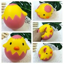 Squishy Eggshell Chicken Slow Rising Squeeze Stress Reliever Charm&Toys Collect
