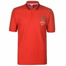 FIFA World Cup 2018 Egypt Polo Shirt Mens Red Football Soccer Top T-Shirt