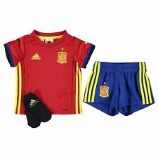 adidas Spain Home Mini Kit 2016 Baby Scarlet/Yel Football Soccer Top Shorts Sock