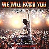 *NEW*  We Will Rock You [Original London Cast Recording] (CD) . FREE UK P+P ....